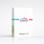 csv2qfx Convert Software Box