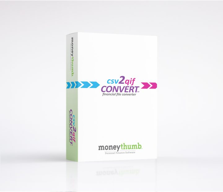 csv 2qif Convert Software Box
