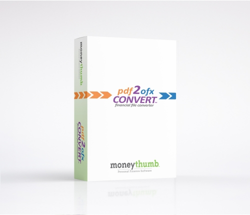 pdf2ofx Convert Software Box