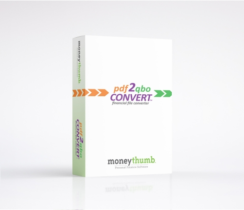 pdf2qbo Convert Software Box