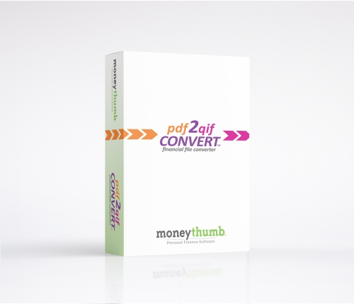 pdf2qif Convert Software Box