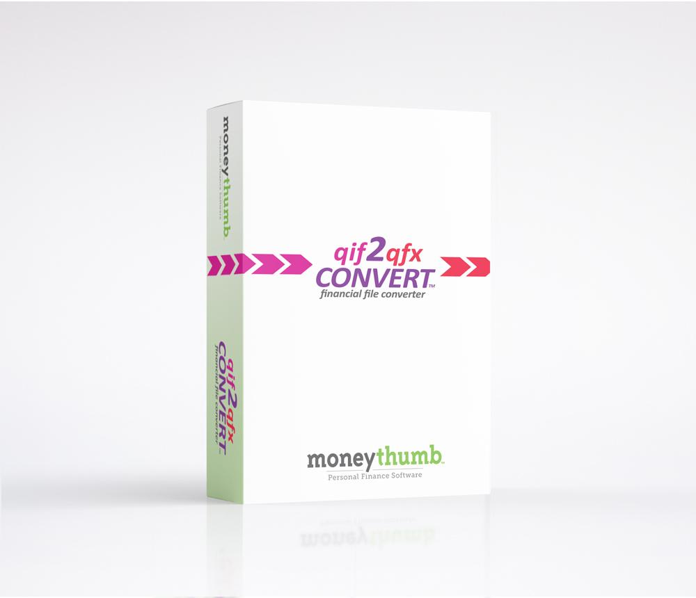 qif2qfx Convert Software Box