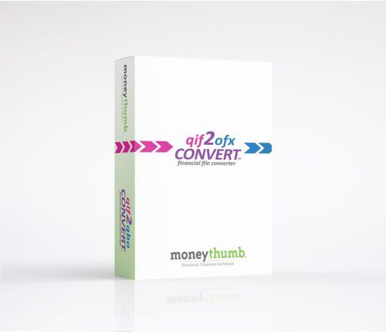 qif2ofx Convert Software Box
