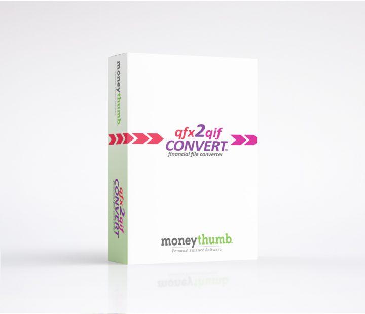 qfx2qif Convert Software Box