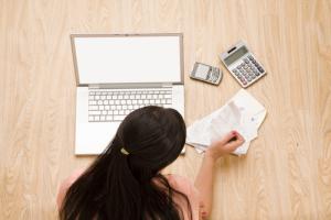 online accounting, MoneyThumb, spreadsheet