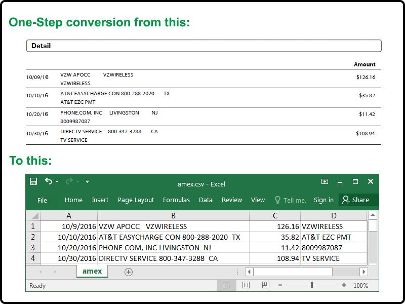 PDF2OFX results width=