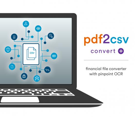 pdf2csv convert