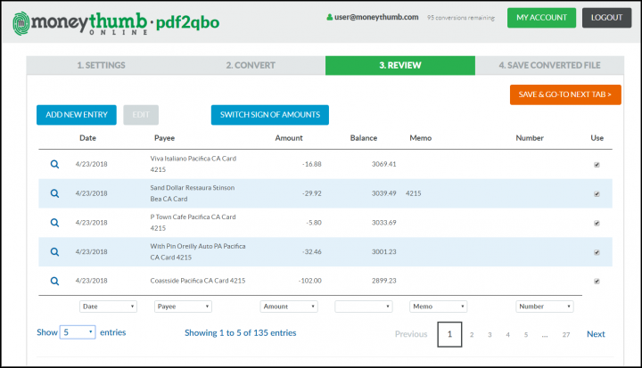 pdf2qbo Online Cleaned