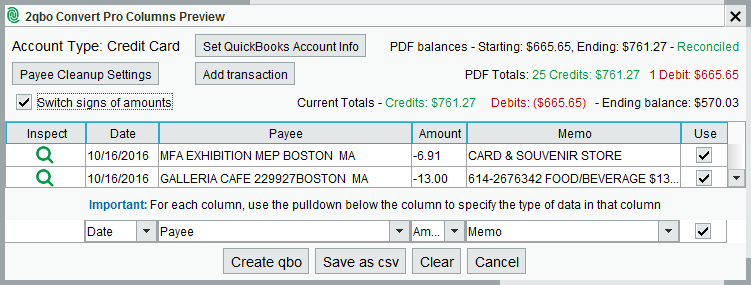PDF to QuickBooks - How to Convert - MoneyThumb